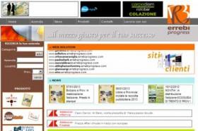 Creazione sito Errebiprogress di Padova