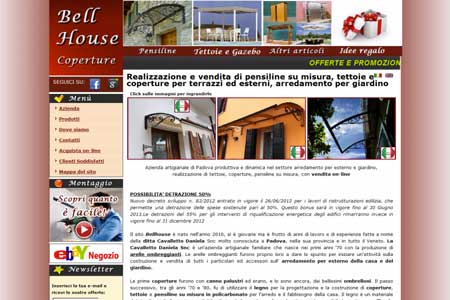 Ottimizzazione sito Bellhouse di Piove di Sacco