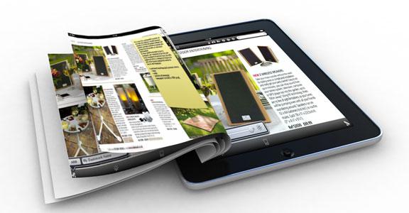 appypress catalogo aziendale su ipad