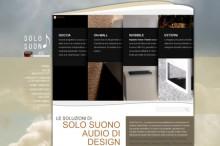 Realizzazione ottimizzazione SEO del sito Solosuono di Padova